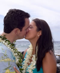 Hawaiian Style Wedding and Reception