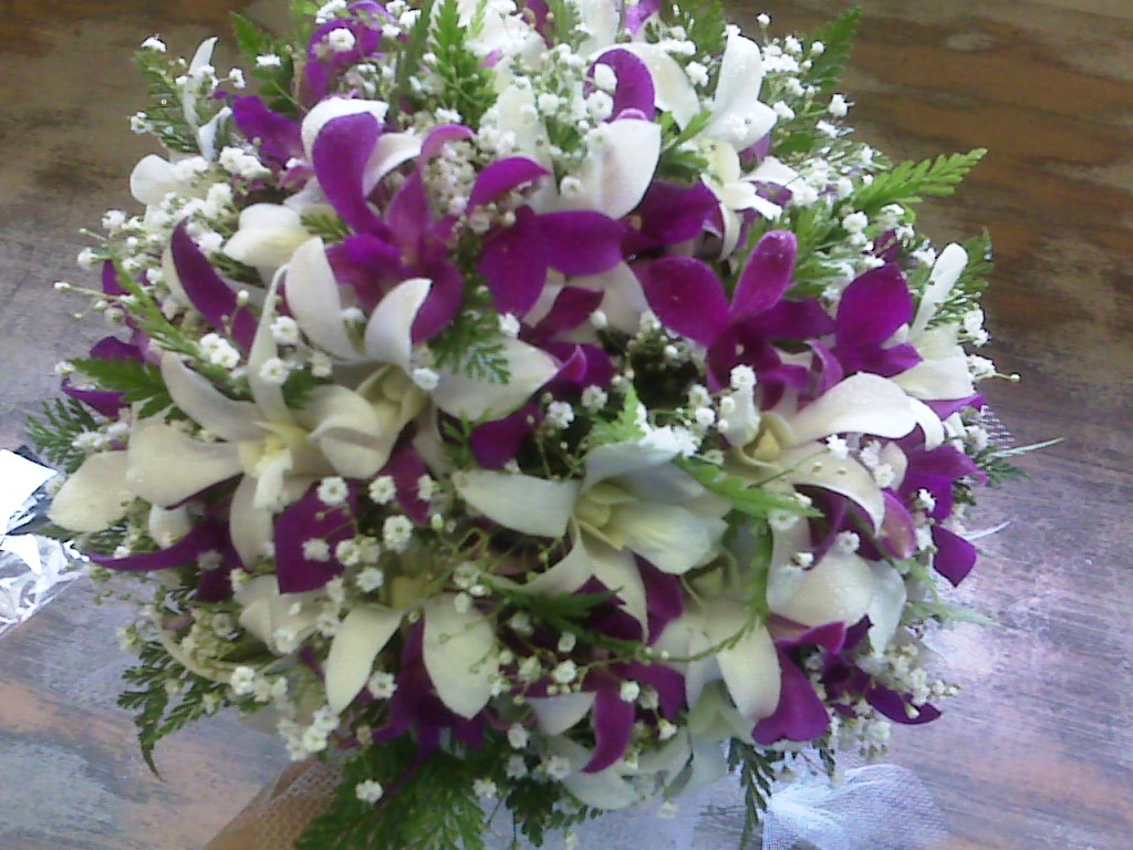French Style Bridal Bouquet
