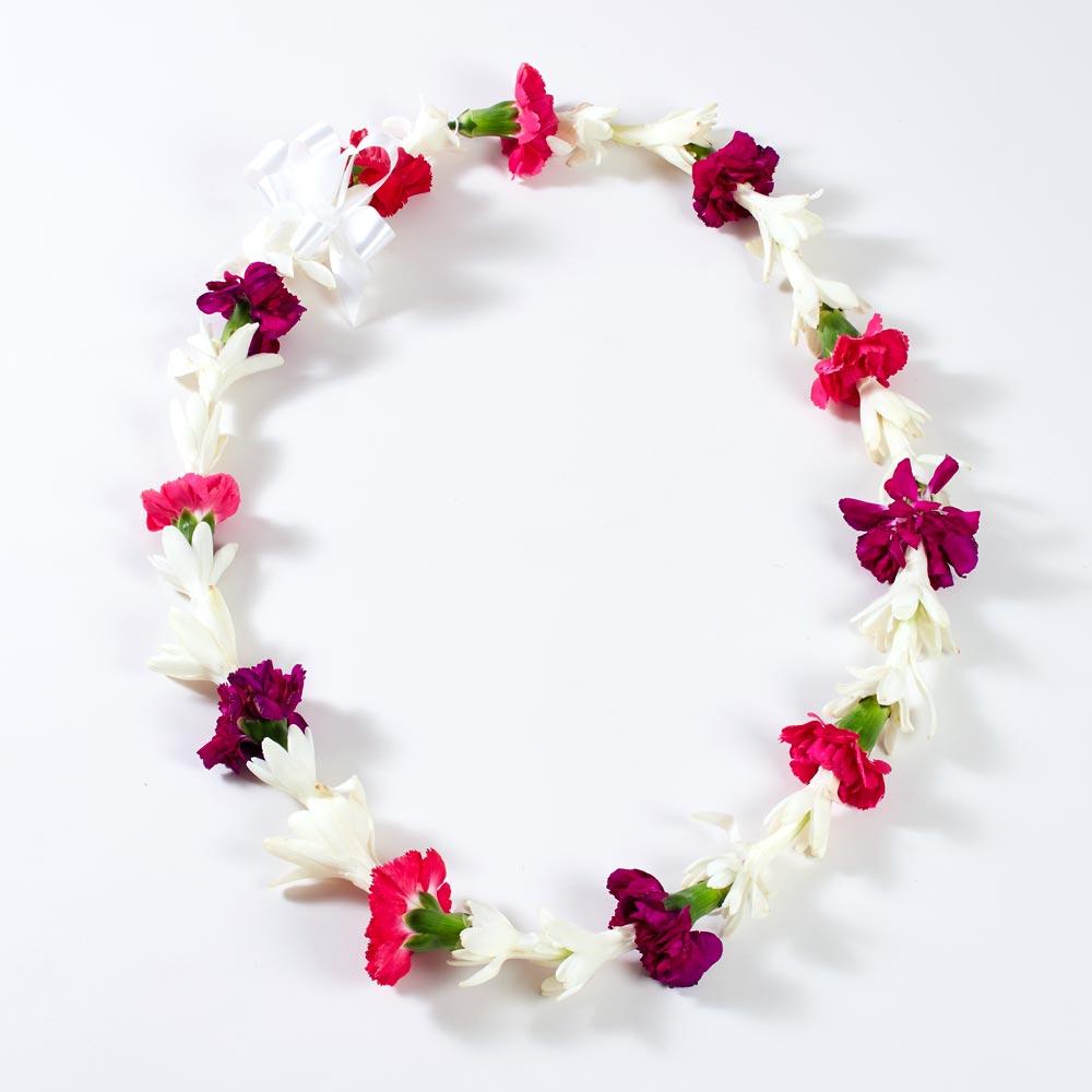 Hawaiian Summer Breeze Lei Rose